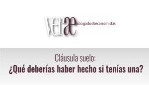 Los mejores abogados cláusula suelo en Madrid están en Verae