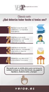 Busca a los mejores abogados cláusula suelo en Madrid
